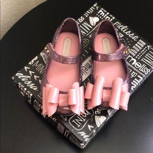 Mini Melissa bow shoes